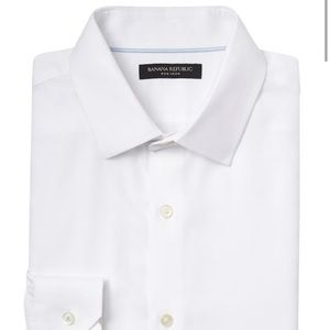 Banana republic slim fit 100% cotton dress shirt